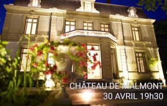 12ème Table Ovale - Château de Malmont