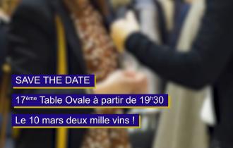 17ème Table Ovale - 10 mars 2020 | Cave Coopérative de Saint-Saturnin-de-Lucian