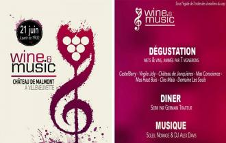 WINE & MUSIC - > Château de Malmont à Villeneuvette !