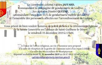 Célébration de la Ste Geneviève