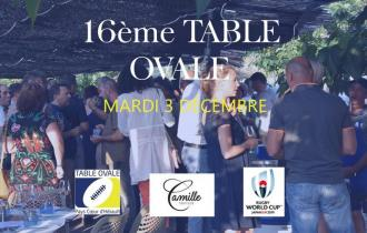 16ème Table Ovale - Chai de la Gare GIGNAC