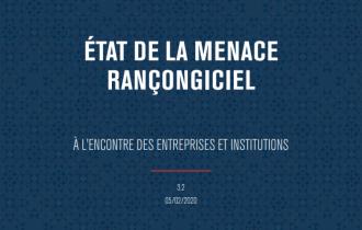 État de la menace rançongiciel -  À l'encontre des entreprises et institutions