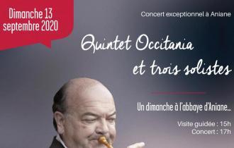 CONCERT EXCEPTIONNEL A L'ABBAYE D'ANIANE - 13 SEPTEMBRE